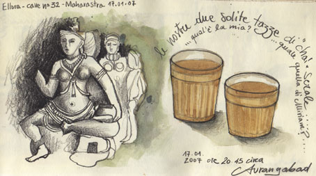 NEPAL & INDIA -  TRAVEL SKETCHBOOK
