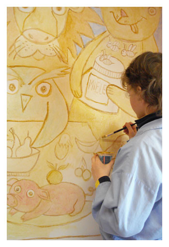 MURAL PAINTING WORKSHOPS